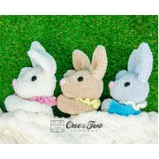 Bubble the Little Bunny Amigurumi Crochet Pattern - Dutch Version