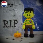 Frankie Amigurumi Crochet Pattern - Dutch Version