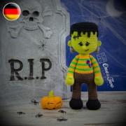 Frankie Amigurumi Crochet Pattern - German Version