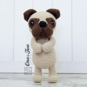 Hiro the Pug Amigurumi Crochet Pattern - Dutch Version