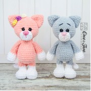 Kim the Little Kitty Amigurumi Crochet Pattern - English Version