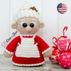 "Mrs. Claus ""Little Explorer Series"" Amigurumi Crochet Pattern - English Version"