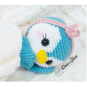 Priscilla the Sweet Penguin Amigurumi Crochet Pattern - German Version