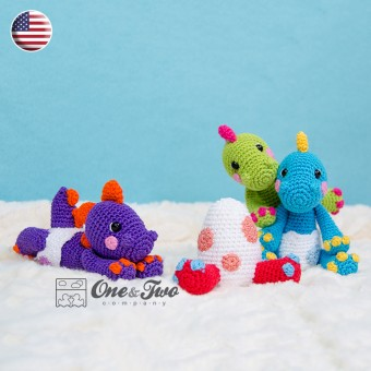 The Hatching Party Amigurumi Crochet Pattern - English Version
