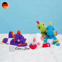 The Hatching Party Amigurumi Crochet Pattern - German Version