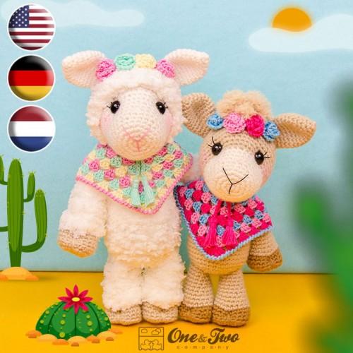 FurlsCrochet | Free Crochet Llama Amigurumi Pattern | 500x500