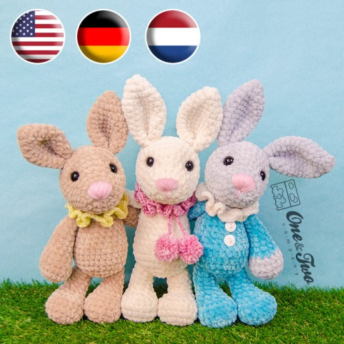 Dutch Rabbit Crochet Amigurumi Free Pattern | Crochet Cats | 500x500