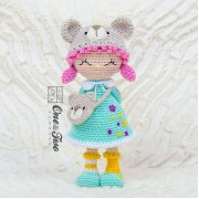 Joy the Teddy Bear Dolly Amigurumi Crochet Pattern - Dutch Version