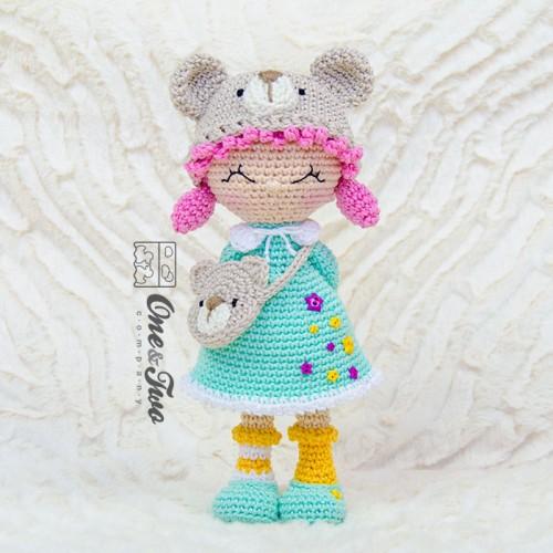 Sally Crochet Holder Dolly Free Pattern   Crochet organizer ...   500x500