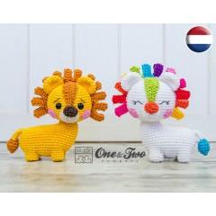 Lennon the Lion - Quad Squad Series Amigurumi Crochet Pattern - Dutch Version