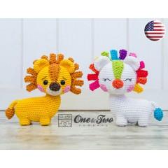Lennon the Lion - Quad Squad Series Amigurumi Crochet Pattern - English Version
