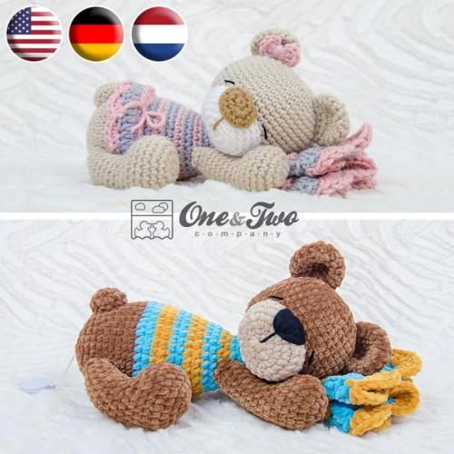 Millie-Rose the Teddy Bear amigurumi pattern - Amigurumipatterns.net | 500x500