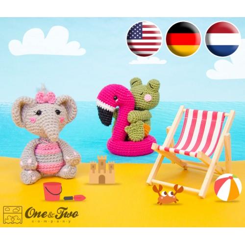Summer Party - Little Friends Series Amigurumi Crochet