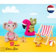 Summer Party - Little Friends Series Amigurumi Crochet Pattern - Dutch Version