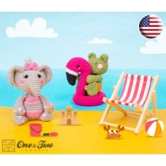 Summer Party - Little Friends Series Amigurumi Crochet Pattern - English Version