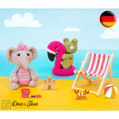 Summer Party - Little Friends Series Amigurumi Crochet Pattern - German Version