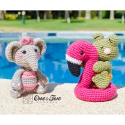 Summer Party - Little Friends Series Amigurumi Crochet Pattern - English, Dutch, German