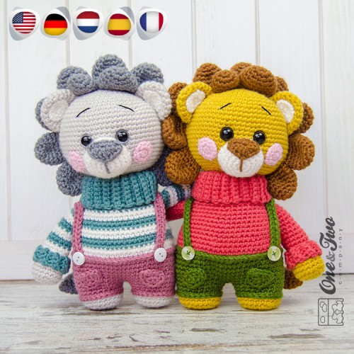 realistic crochet lion | Son's Popkes | 500x500