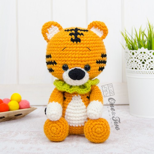 Ravelry: Tiger Amigurumi pattern by Knotty Hooker Designs | 500x500