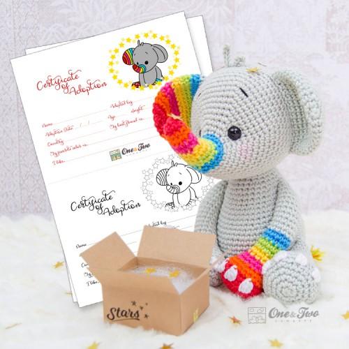 Crochet Elephants | Crochet elephant, Crochet elephant pattern ... | 500x500