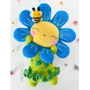 "Bloom the Flower ""Spirits of Nature Series"" Amigurumi Crochet Pattern - English, Dutch, German, Spanish, French"