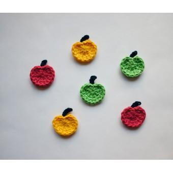 Apple Applique Crochet
