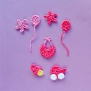 Baby Accessories  Applique Crochet