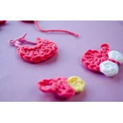 Baby Accessories  Applique Crochet