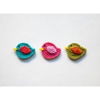 Bird Applique Crochet