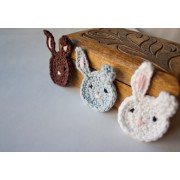 Bunny Applique Crochet