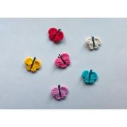 Butterfly Applique Crochet Phototutorial
