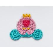 Cinderella Carriage Applique Crochet
