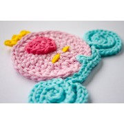 Cinderella Carriage Applique Crochet