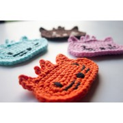 Cat Applique Crochet