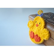 Chicken Applique Crochet