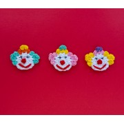 Clown Applique Crochet