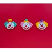 Clown Applique Crochet