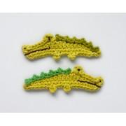 Crocodile Applique Crochet
