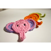Elephant Applique Crochet
