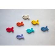 Fish Applique Crochet
