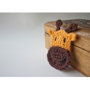 Giraffe Applique Crochet