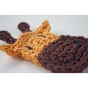 Giraffe Applique Crochet