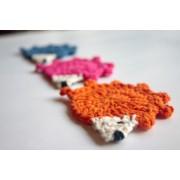 Hedgehog Applique Crochet