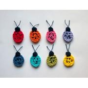 Ladybug Applique Crochet