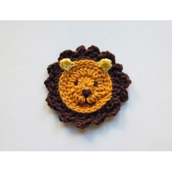 Ravelry: Lion Applique pattern by Carolina Guzman