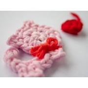 Little Cat Applique Crochet