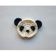 Panda Applique Crochet