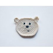 Polar Bear Applique Crochet