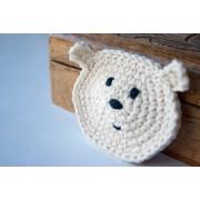 Polar Bear Applique Crochet