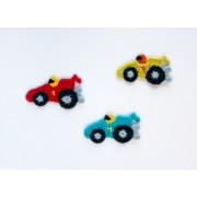 Racing Car Applique Crochet